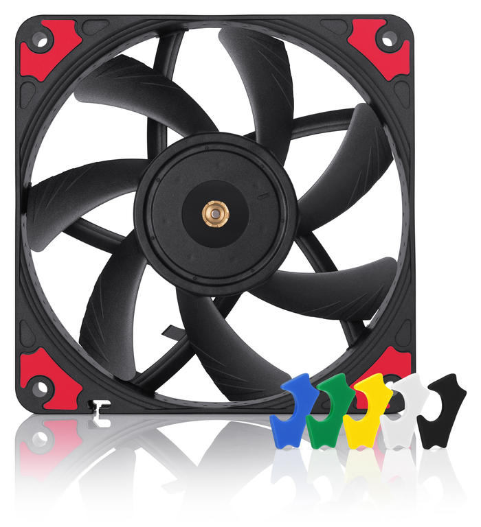 Ventilator NF-A12x15 PWM Chromax.black.swap, 1850 RPM, 120x120x15 mm