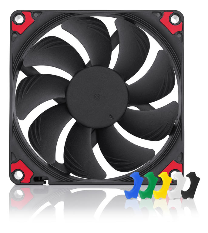 Ventilator NF-A9x14 HS-PWM chromax.black.swap, 2500 RPM, 92x92x14 mm