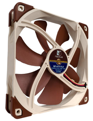 Ventilator NF-A14 FLX, 1200 RPM, 140x140x25 mm